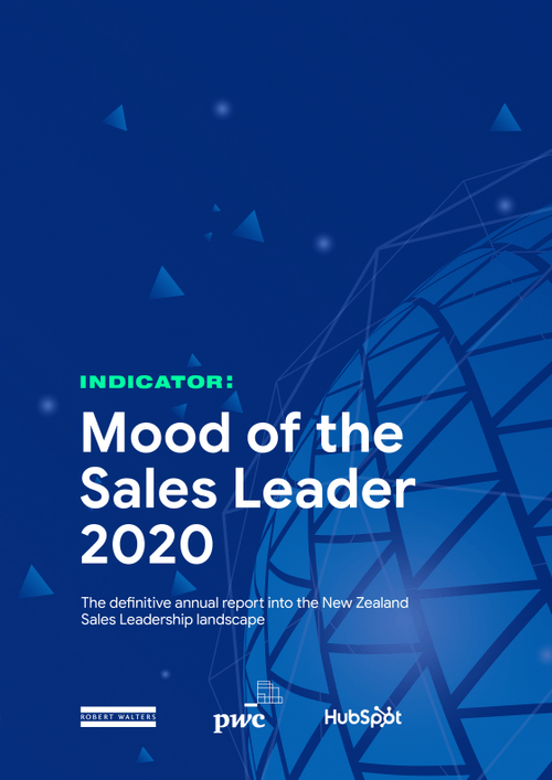 Mood of the sales leader 2020
